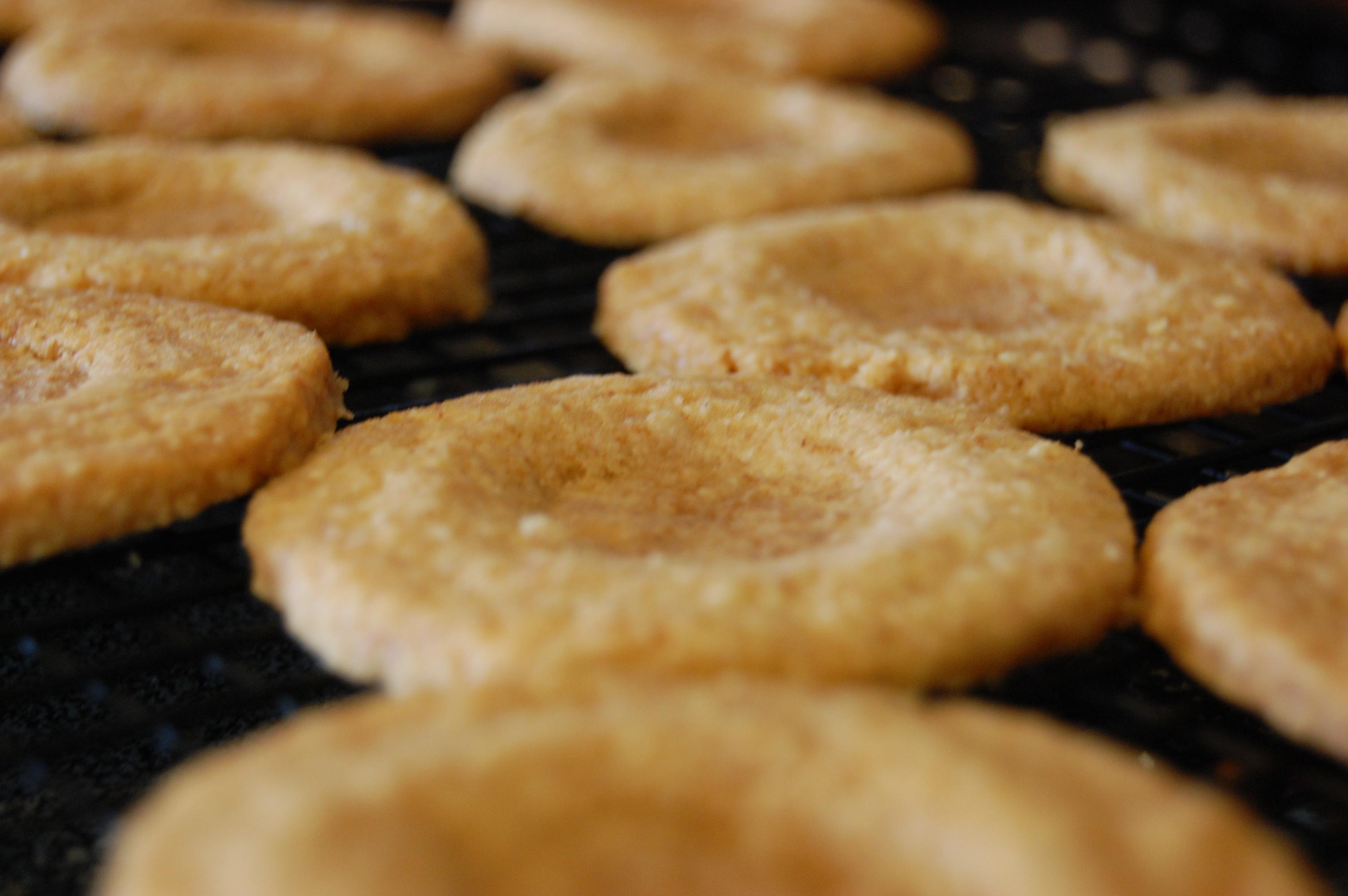 Toasted Flour Shortbread