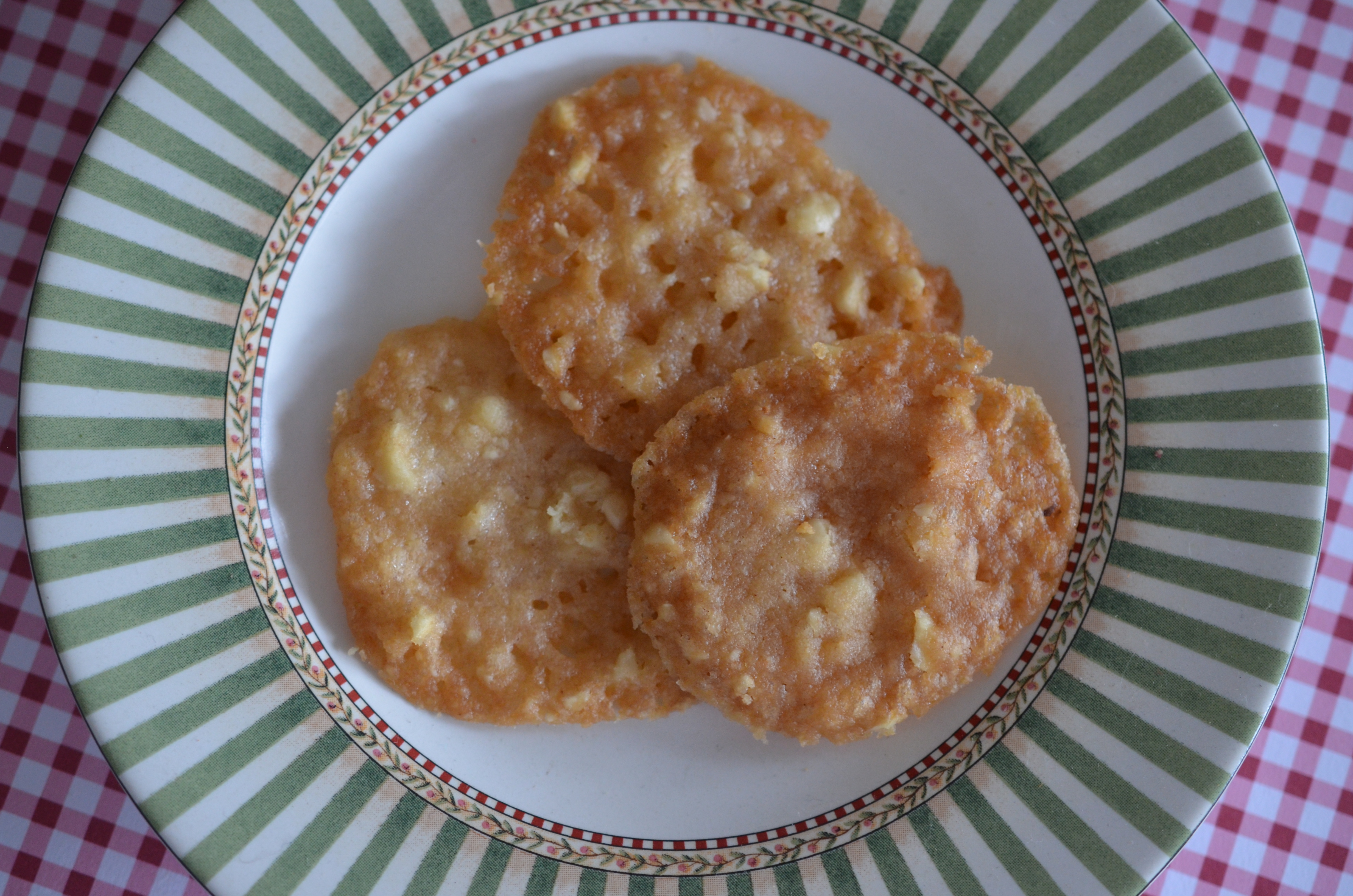 Wild Flower Honey- Hazelnut Lace Cookies | Vanilla Lemonade